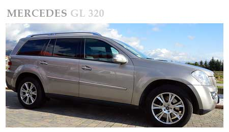 rent a mercedes GL 320
