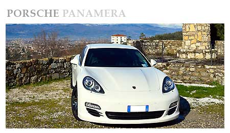 Rent a Porsche Panamera in Switzerland