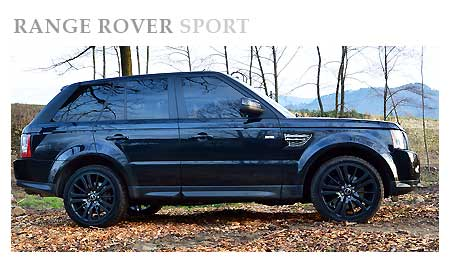 Rent a Range Rover Sport in Switzerland